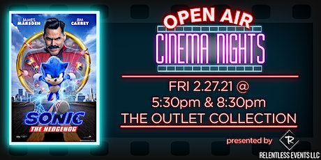 Sonic The Hedgehog  | Open Air Cinema Nights tickets