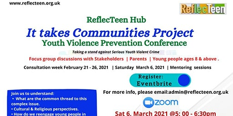 Youth Violence and Knife Crime Prevention Conference tickets