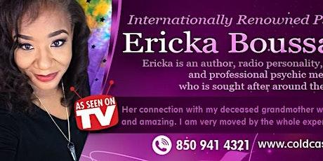 Virtual Messages with International TV Psychic Medium Ericka Boussarhane tickets