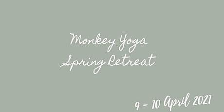 Monkey Yoga Virtual Spring Retreat tickets