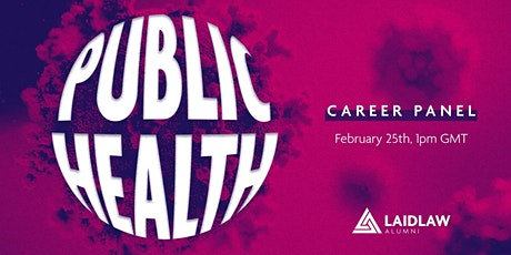 Career Panel: Public Health tickets