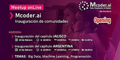 Capítulo JALISCO y ARGENTINA / Mcoder.ai  (STEM) boletos