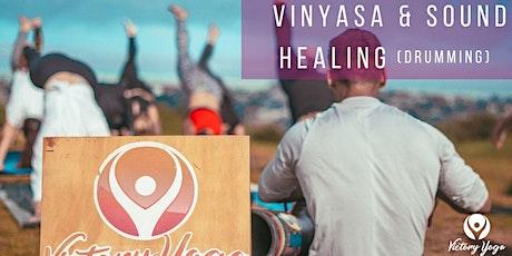 Vinyasa & Sound Healing (Drumming) tickets