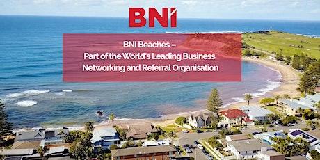 BNI Beaches Weekly meeting tickets