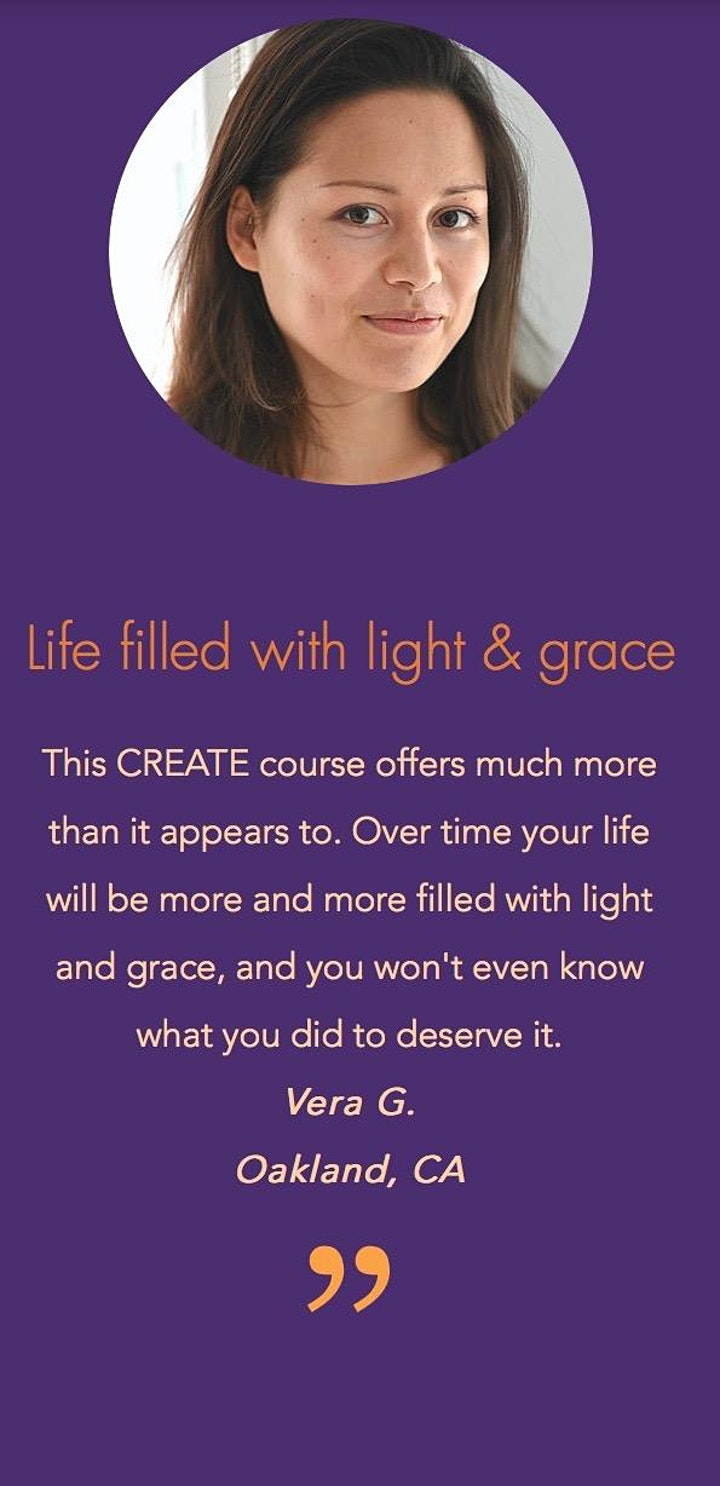 CREATE: 5 SECRETS TO THE LIFE YOU WANT image