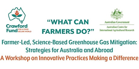 """WHAT CAN FARMERS DO?"" Farmer-Led, Science-Based Greenhouse Gas Mitigation tickets"