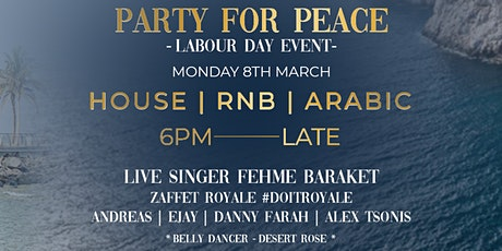 SAHIRA | Middle Eastern Night | Labour Day Event tickets