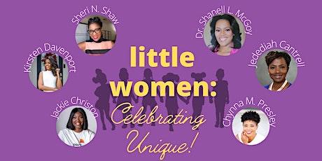 Little Women: Celebrating Unique (Online Brunch 'n' Learn Series) tickets