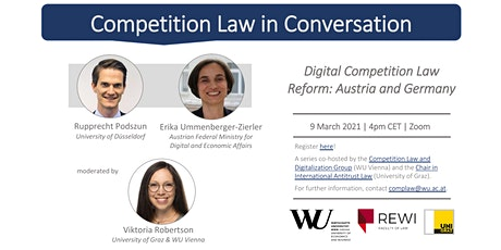 Competition Law in Conversation: Digital Competition Law Reform Tickets