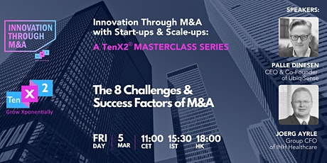The 8 Challenges & Success Factors of M&A tickets