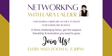 Networking with Lara Lauder tickets