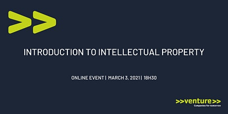>>venture>> Introduction to Intellectual Property tickets