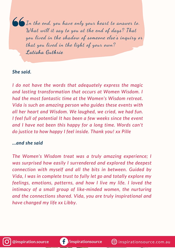 Women's Wisdom 2021 image