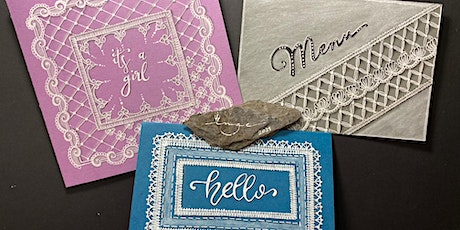 Zentangle®: WHITE LACE tickets