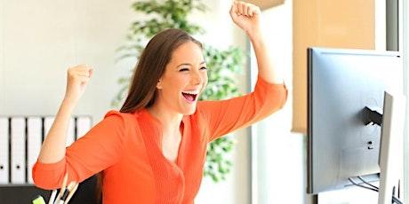 Webinar Emplea: Conecta con tu energía positiva para encontrar trabajo. bilhetes