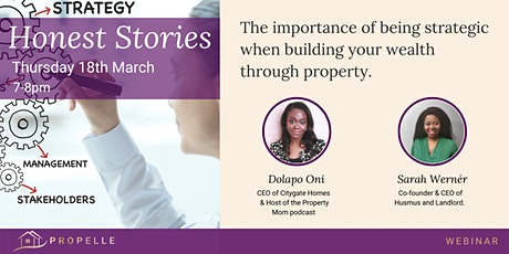 Honest Stories | Get strategic when building your wealth through property tickets