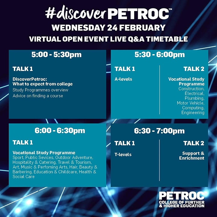 Virtual Open Event(North Devon Campus) image