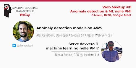 Web Meetup #11: Anomaly detection & ML nelle PMI biglietti