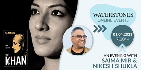 An Evening with Saima Mir and Nikesh Shukla tickets