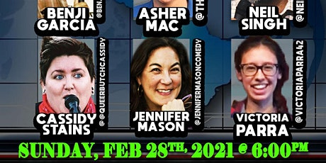The  Sunday Panel Comedy Show - 2/28 at 6:00 pm PST tickets
