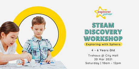 STEAM Discovery Workshop: Exploring with Sphero Robot tickets