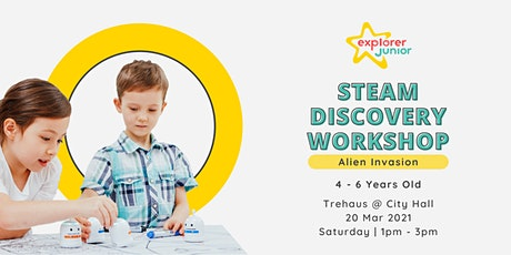 STEAM Discovery Workshop: Alien Invasion tickets