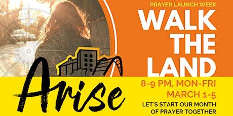 Arise Sheffield Launch Week of Prayer: Sheffield Centre & city-wide (S1) tickets