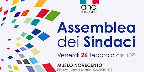 Assemblea dei soci di Anci Toscana,26 febbraio 2021 biglietti