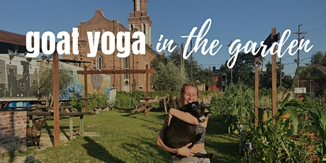 Goat Yoga @ Paradigm Gardens tickets