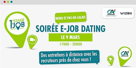 E-Job Dating Nord & Pas-de-Calais : décrochez un emploi dans votre région billets