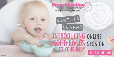 Introducing Solid Foods to Your Baby Session tickets