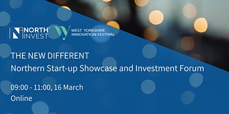 The New Different: Northern Start-up Showcase & Investment Forum tickets