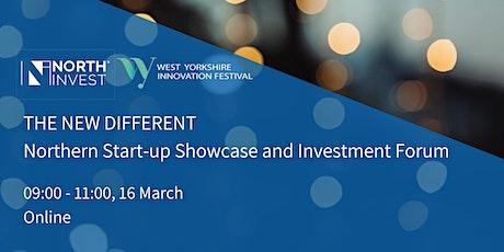 The New Different: Northern Start-up Showcase & Investment Forum biglietti