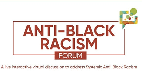 Anti-Black Racism Forum: Community Safety & Justice tickets