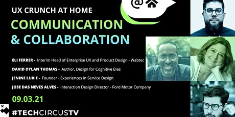 UX Crunch at Home: Communication & Collaboration tickets