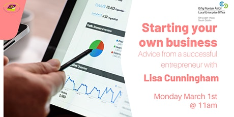 Starting your own business: Advice from a successful entrepreneur tickets