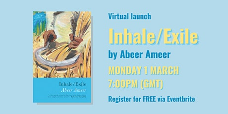 Virtual Launch of 'Inhale/Exile' tickets