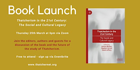 Book Launch: Thatcherism in the 21st Century tickets