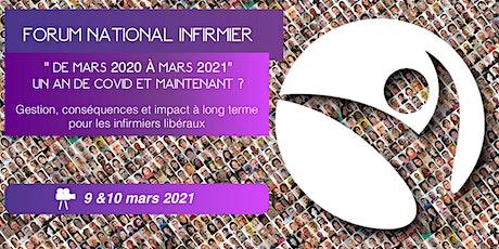 FORUM NATIONAL DES INFIRMIERS  LIBERAUX 9 &10 mars 2021 billets