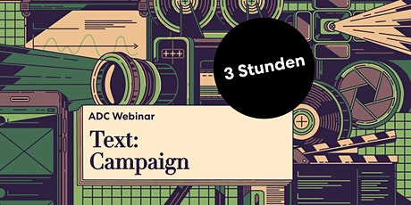 """ADC Teaser Seminar """"Text – Campaign"""" Tickets"""