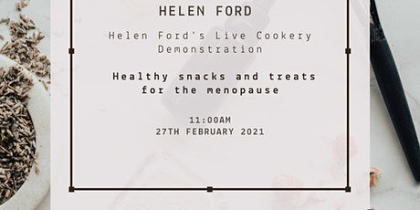 Helen Ford's Live Cookery Demonstration tickets