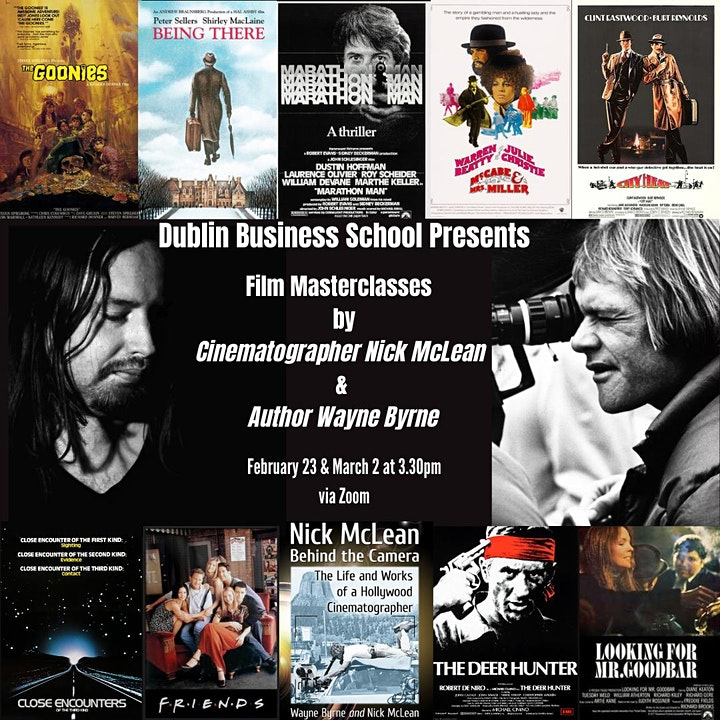 Lecture Series 2 - Creative Arts and Media (Wayne Byrne Cinematographer) image