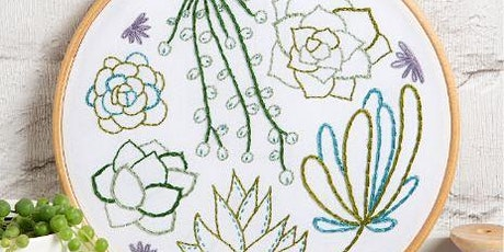 AN INTRODUCTION TO HAND EMBROIDERY WITH HAWTHORN HANDMADE - FREE tickets