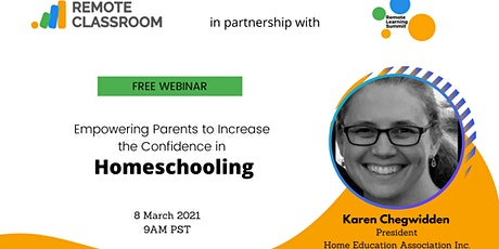 Empowering Parents to Increase the Confidence in Homeschooling tickets