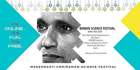 Raman Science Festival tickets