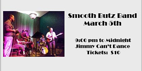 Smooth Butz Band tickets