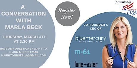 FBLA's Interview With Marla Beck, Co-Founder & CEO of Bluemercury tickets