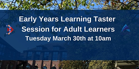 Early Years Learning - Taster Day tickets