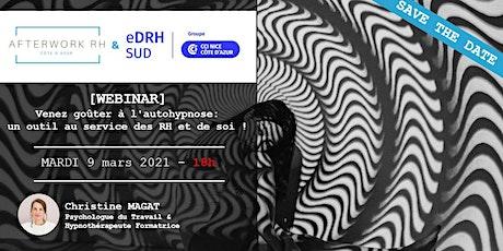AW RH Côte d'Azur - 9 mars-  Autohypnose billets