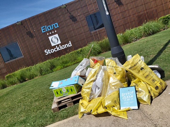 Elara Clean Up Day 2021 image